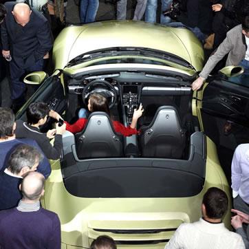Премьера Porsche Carrera 911. Фото №6
